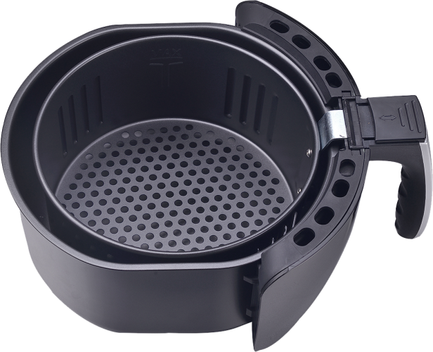 basket with pan